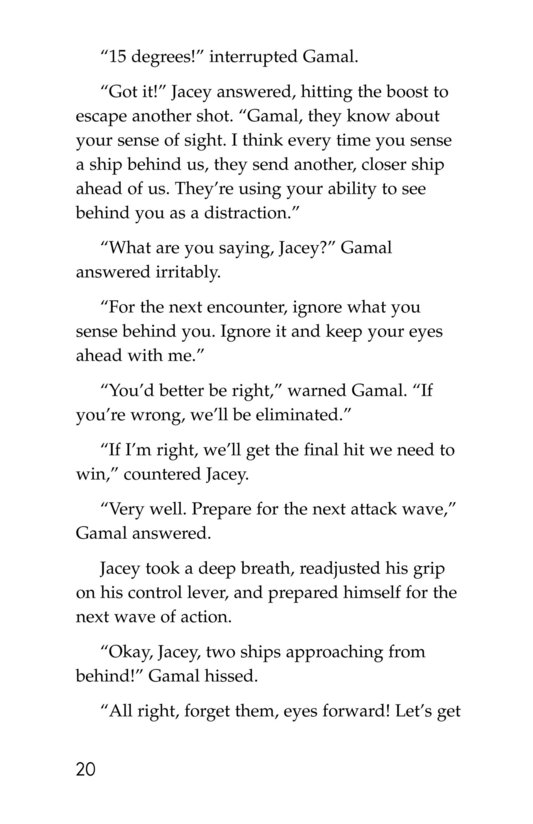 Book Preview For Jacey Nova: Starship Pilot Page 20