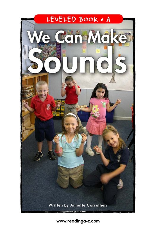 Book Preview For We Can Make Sounds Page 1