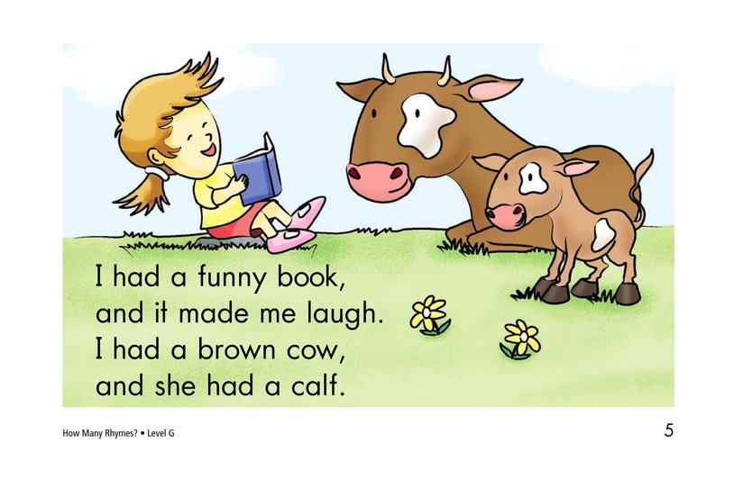 Book Preview For How Many Rhymes? Page 5