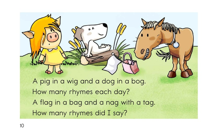 Book Preview For How Many Rhymes? Page 10