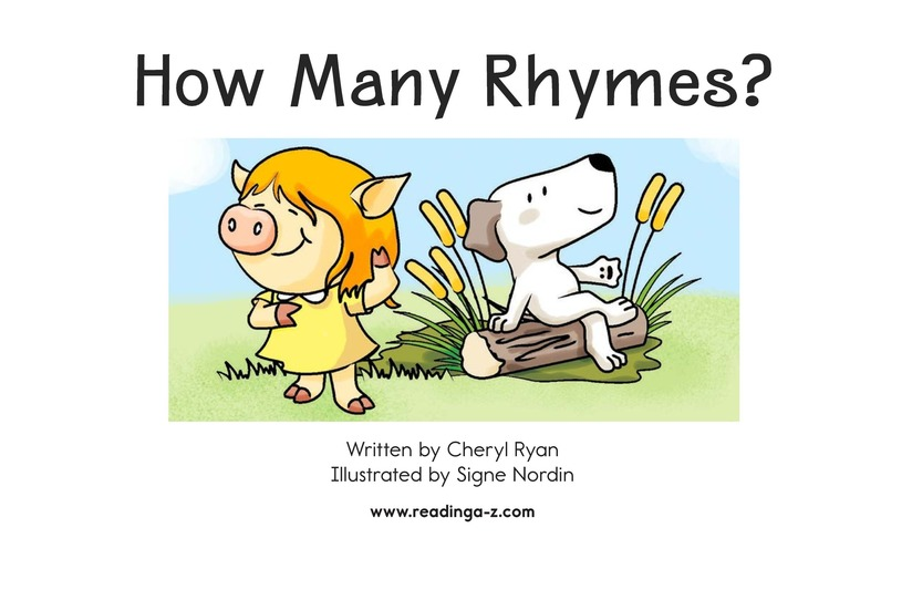 Book Preview For How Many Rhymes? Page 2