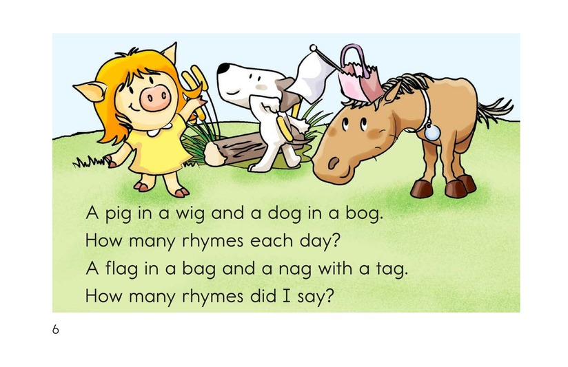 Book Preview For How Many Rhymes? Page 6