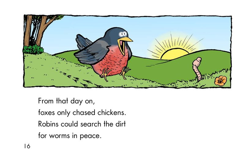Book Preview For Why Robins Hop Page 16