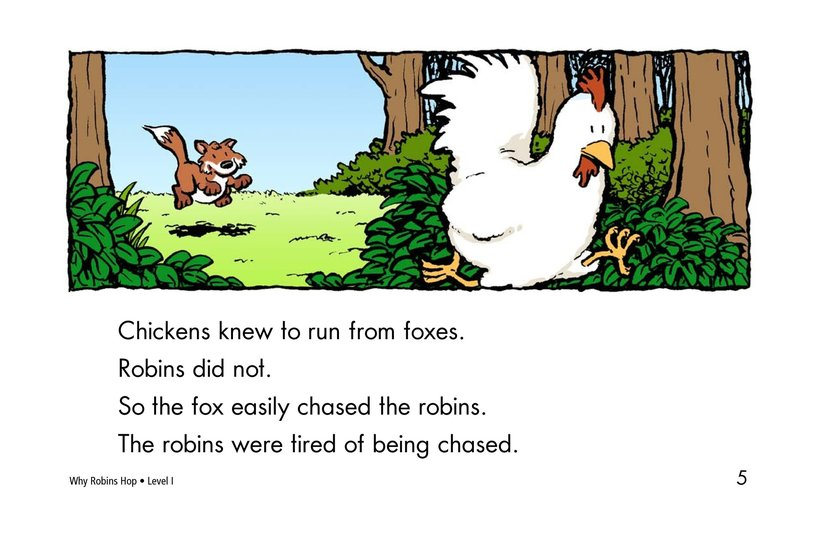 Book Preview For Why Robins Hop Page 5