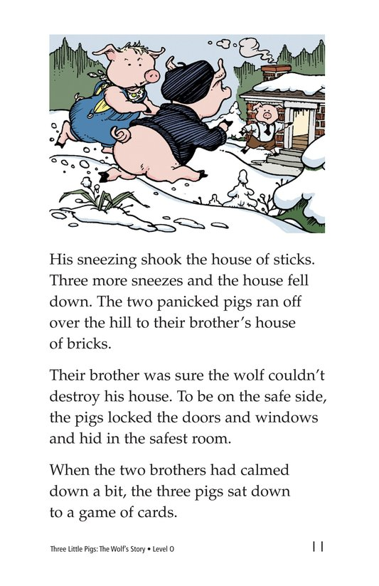 Book Preview For Three Little Pigs: The Wolf's Story Page 11
