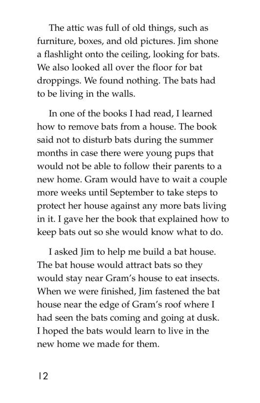 Book Preview For Bats in the Attic Page 12