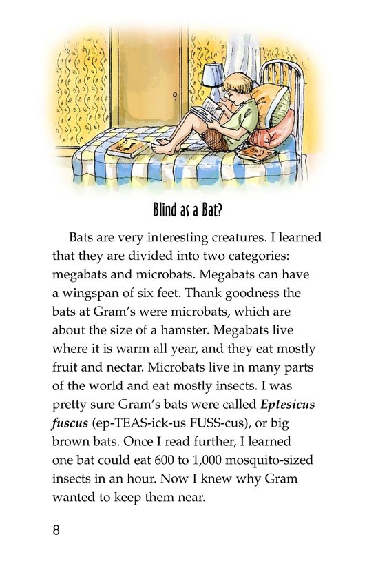 Book Preview For Bats in the Attic Page 8
