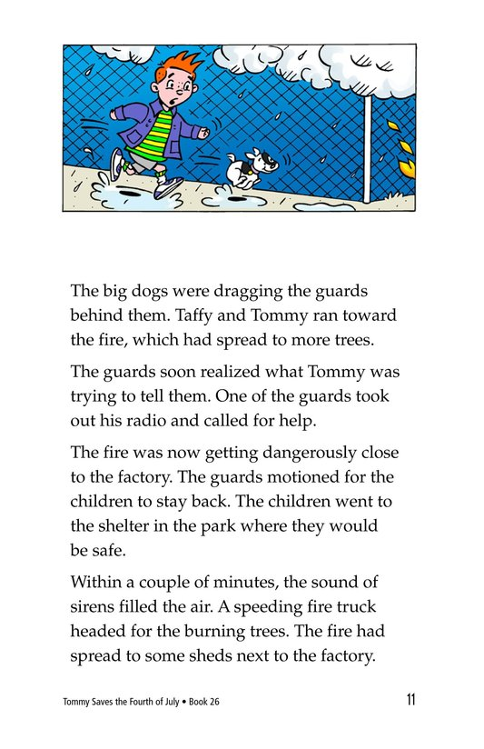 Book Preview For Tommy Saves the Fourth of July Page 11
