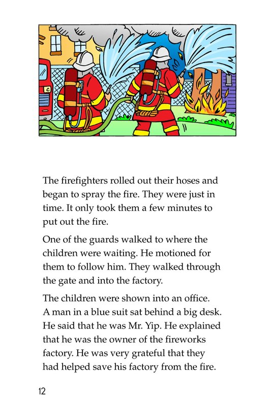 Book Preview For Tommy Saves the Fourth of July Page 12
