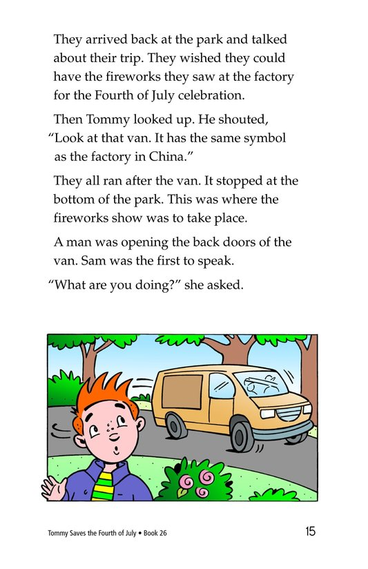 Book Preview For Tommy Saves the Fourth of July Page 15