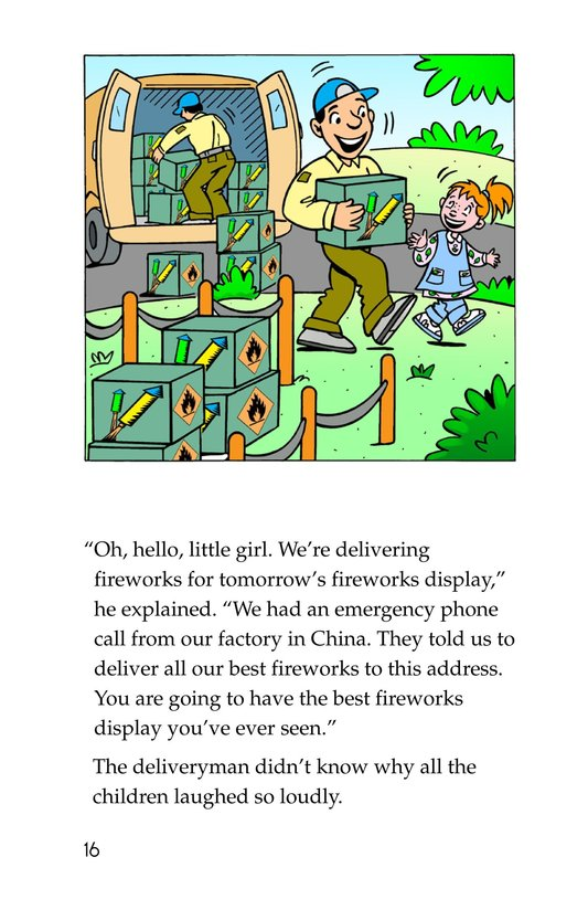 Book Preview For Tommy Saves the Fourth of July Page 16