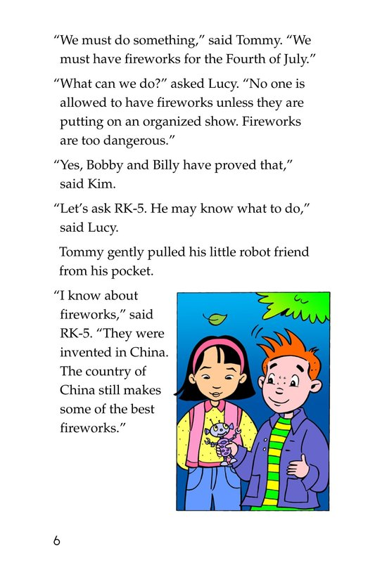 Book Preview For Tommy Saves the Fourth of July Page 6