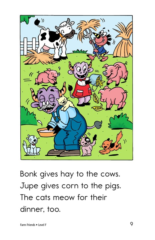 Book Preview For Farm Friends Page 9