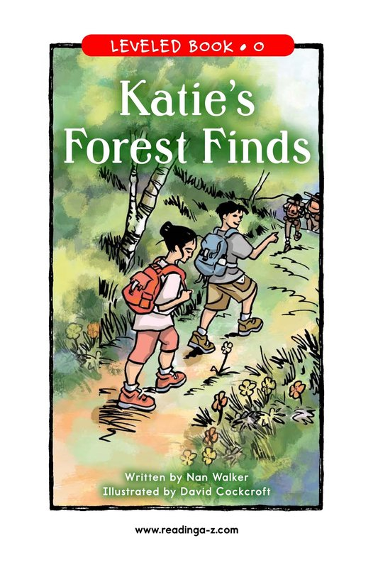 Book Preview For Katie's Forest Finds Page 1
