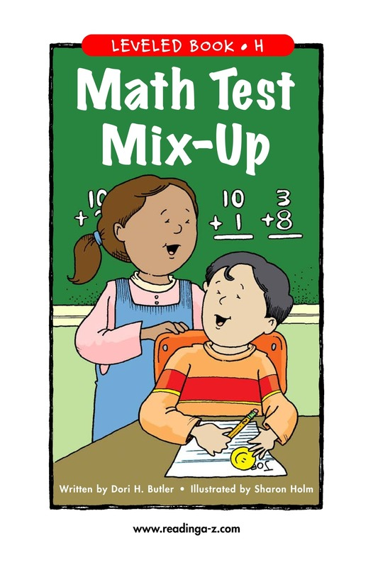 Book Preview For Math Test Mix-Up Page 1