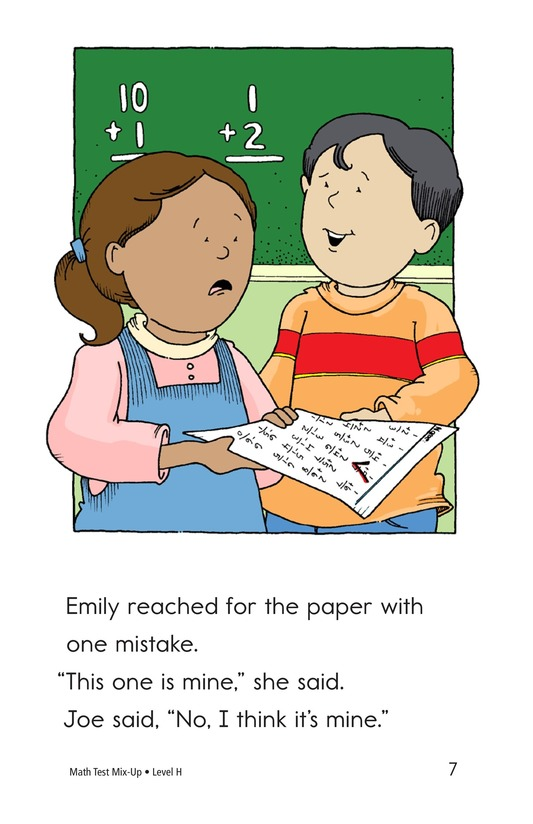 Book Preview For Math Test Mix-Up Page 7