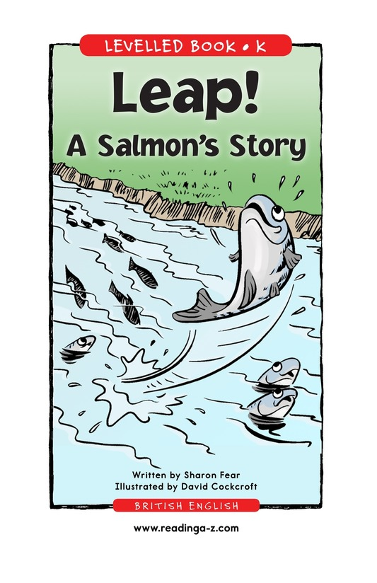 Book Preview For Leap! A Salmon's Story Page 1