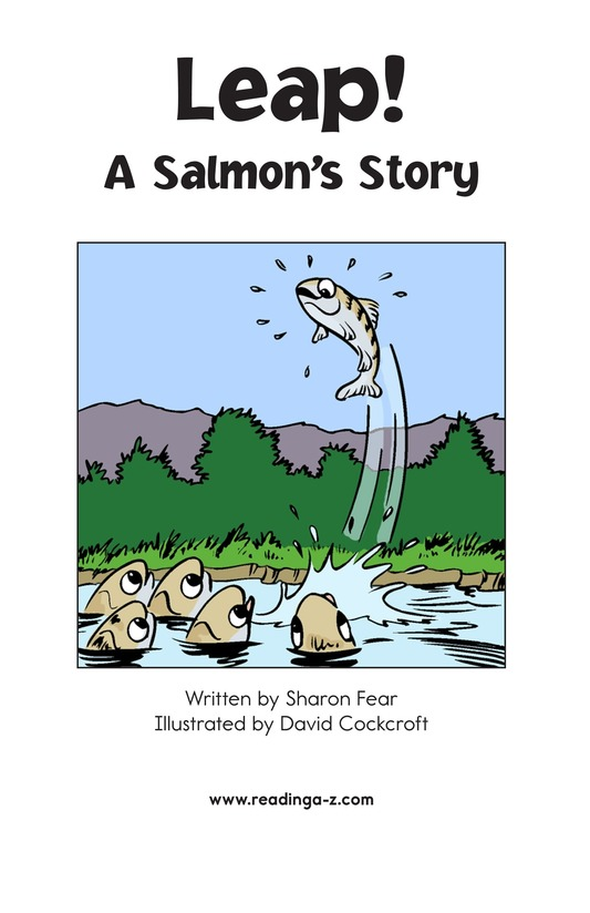 Book Preview For Leap! A Salmon's Story Page 2