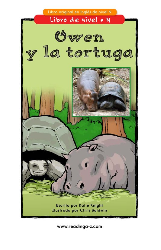 Book Preview For Owen and the Tortoise Page 1