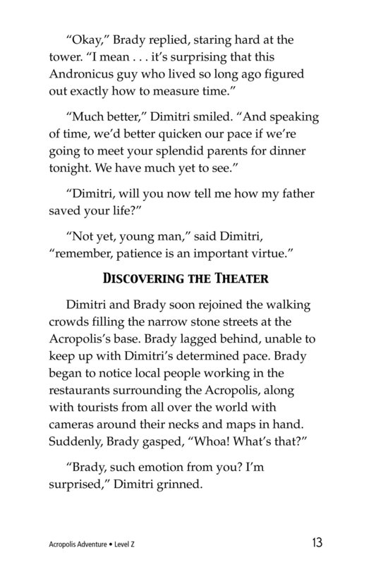 Book Preview For Acropolis Adventure Page 13