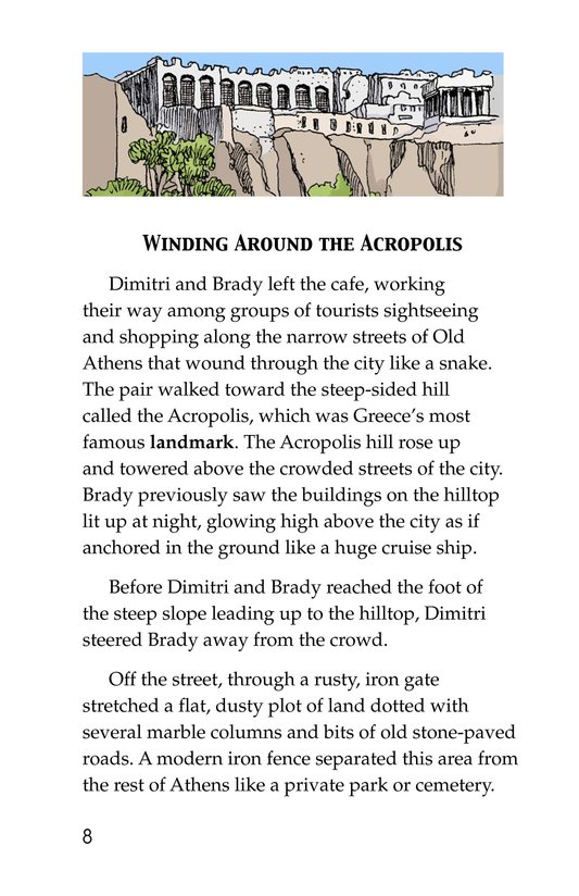 Book Preview For Acropolis Adventure Page 8