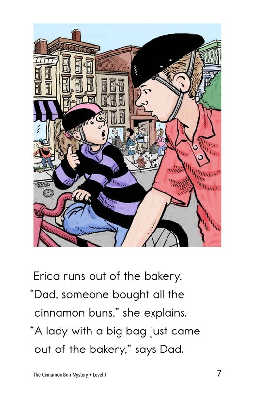 Book Preview For The Cinnamon Bun Mystery Page 7