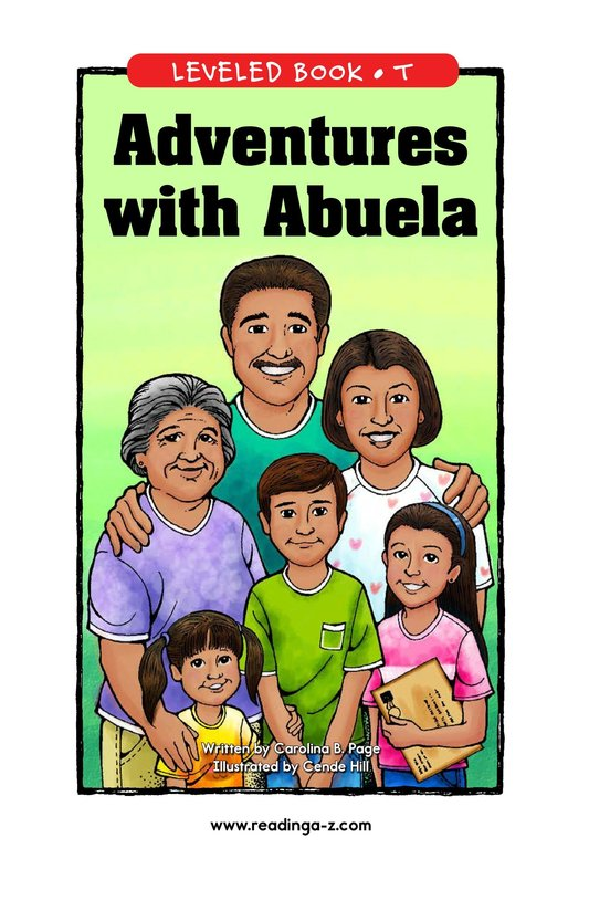Book Preview For Adventures with Abuela Page 1