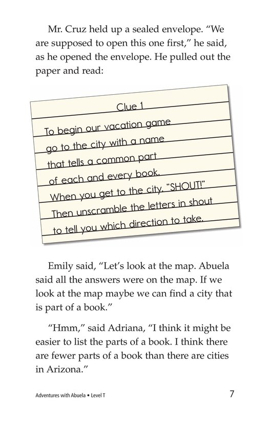 Book Preview For Adventures with Abuela Page 7