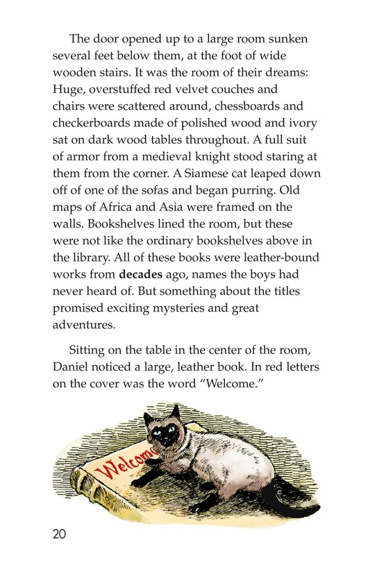 Book Preview For The Mystery of Granville Library Page 20
