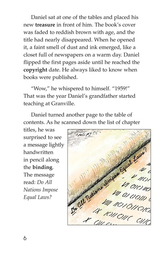 Book Preview For The Mystery of Granville Library Page 6