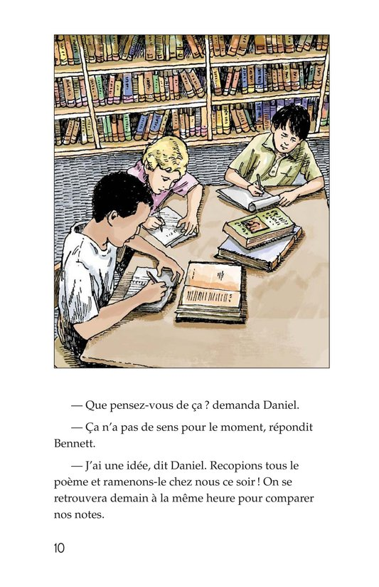 Book Preview For The Mystery of Granville Library Page 10