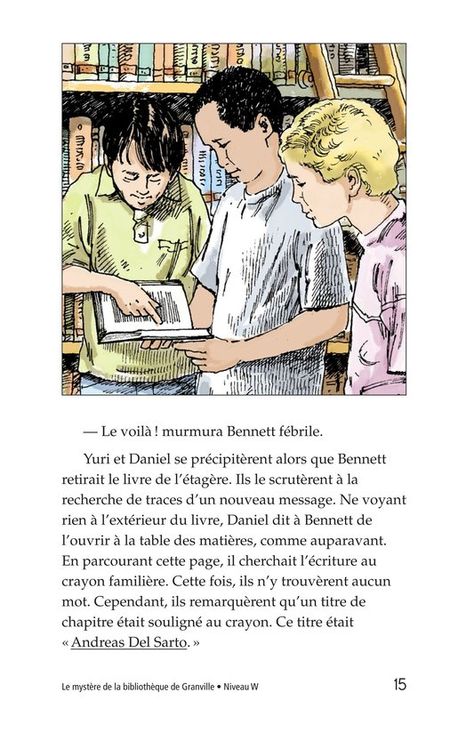 Book Preview For The Mystery of Granville Library Page 15