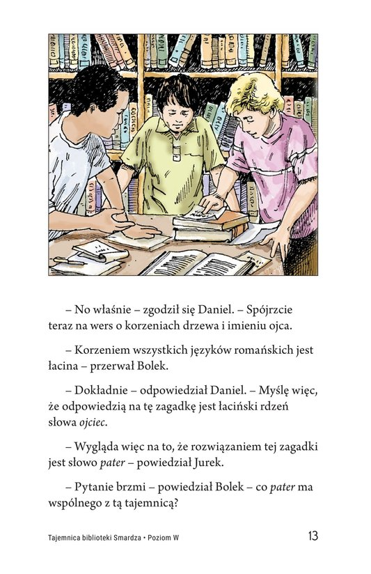 Book Preview For The Mystery of Granville Library Page 13