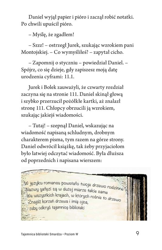 Book Preview For The Mystery of Granville Library Page 9