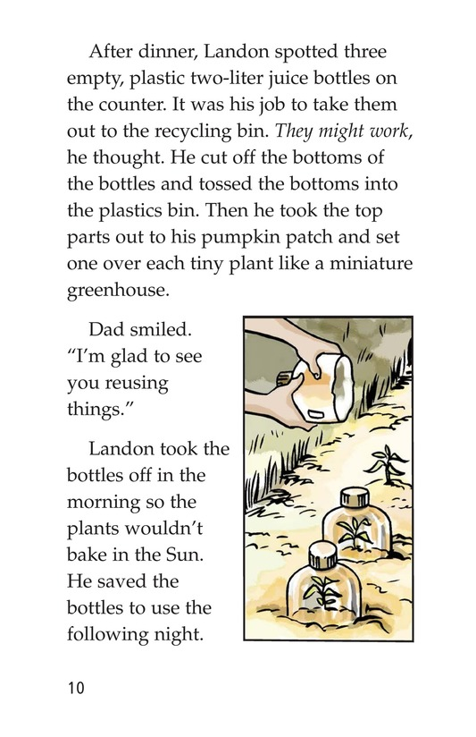 Book Preview For Landon's Pumpkins Page 10