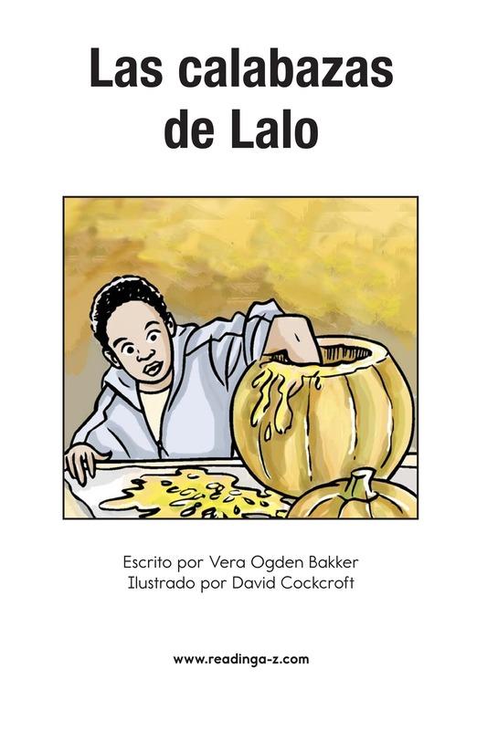 Book Preview For Landon's Pumpkins Page 2