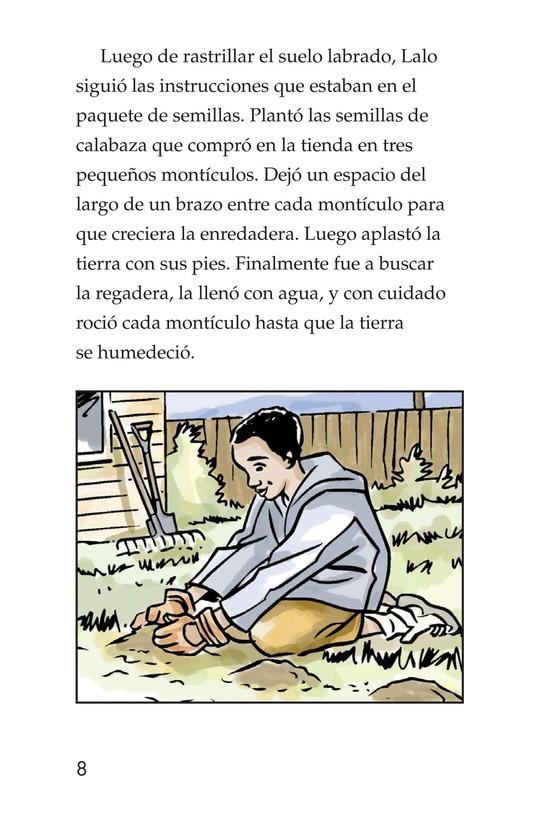Book Preview For Landon's Pumpkins Page 8