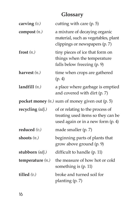 Book Preview For Landon's Pumpkins Page 16