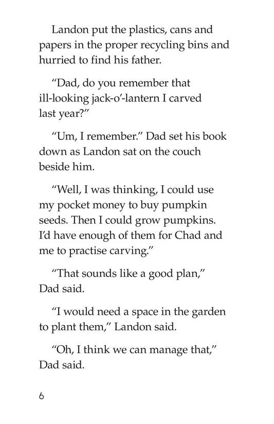 Book Preview For Landon's Pumpkins Page 6