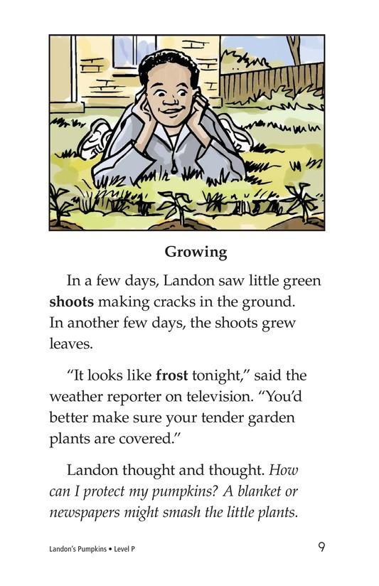 Book Preview For Landon's Pumpkins Page 9