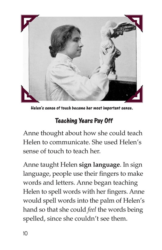 Book Preview For Helen Keller Page 10