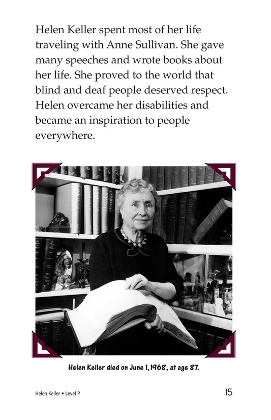 Book Preview For Helen Keller Page 15