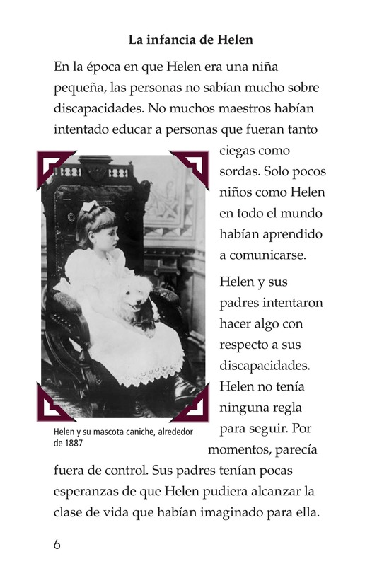 Book Preview For Helen Keller Page 6