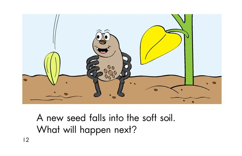 Book Preview For A Seed Grows Page 12