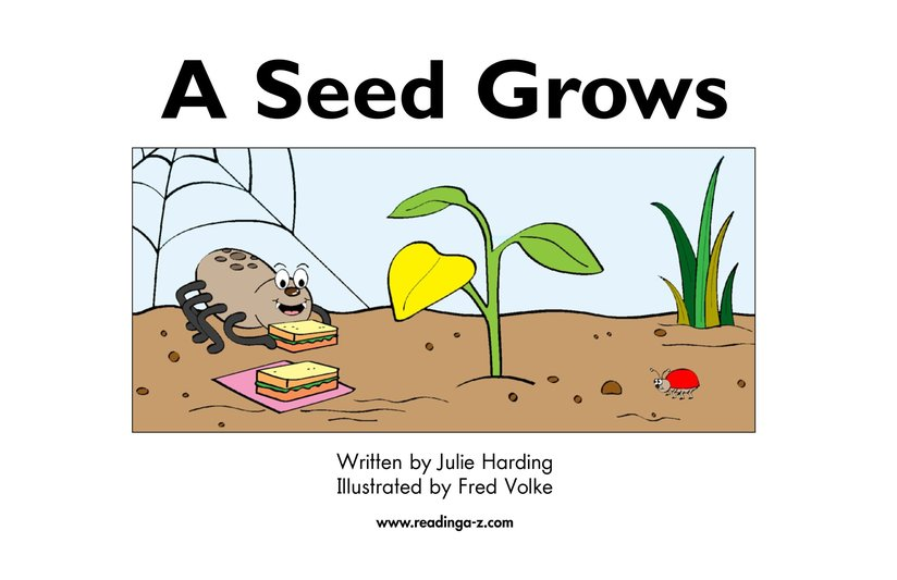 Book Preview For A Seed Grows Page 2