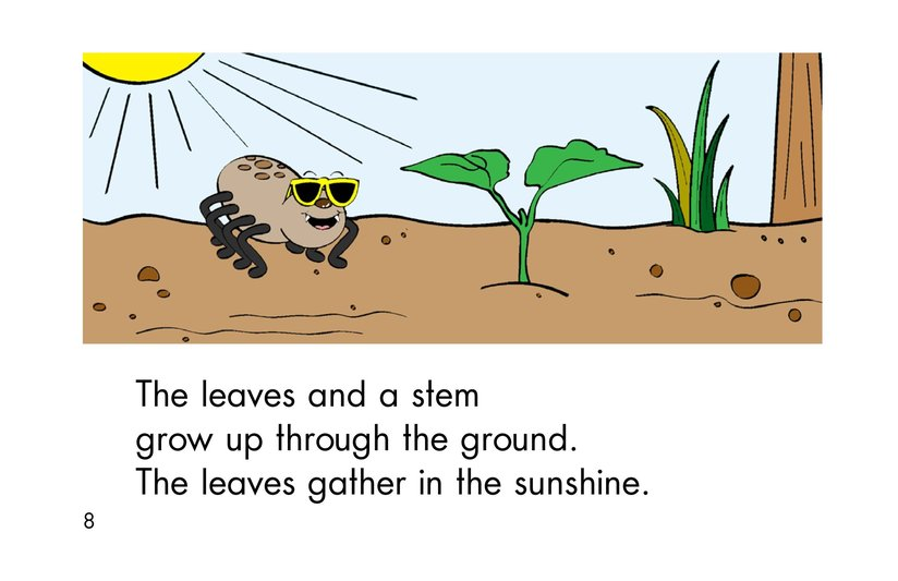 Book Preview For A Seed Grows Page 8