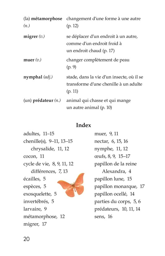 Book Preview For Butterflies and Moths Page 20