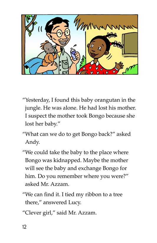 Book Preview For Tommy in the Jungle Page 12