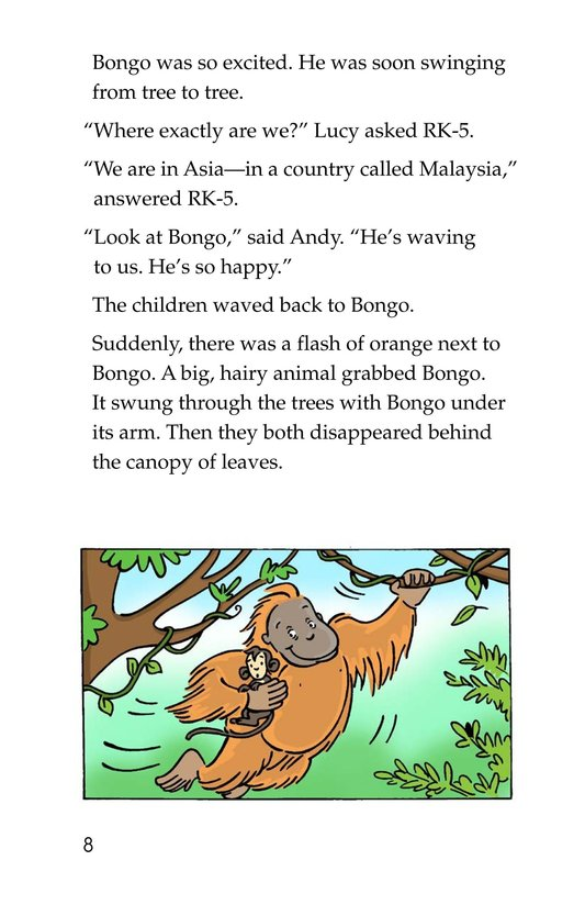 Book Preview For Tommy in the Jungle Page 8
