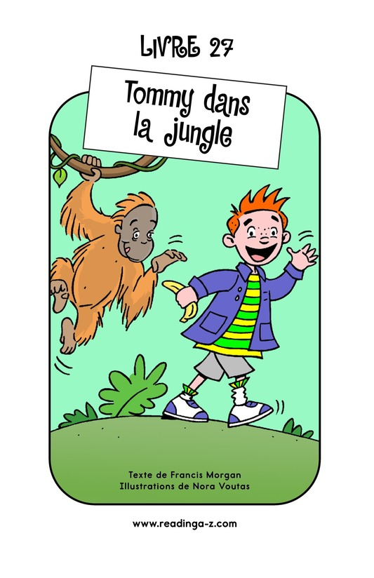 Book Preview For Tommy in the Jungle Page 1